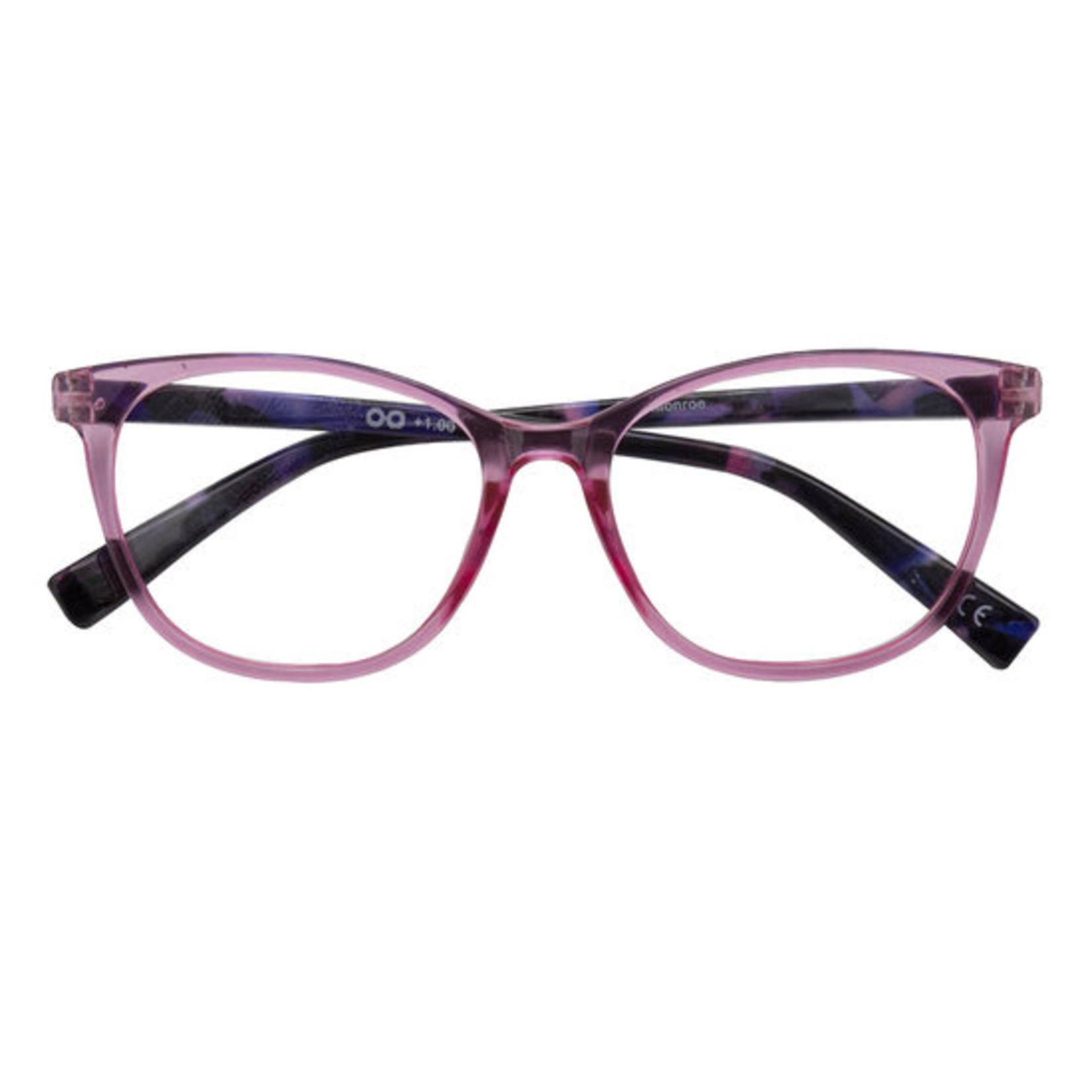 Croon Monroe Roze leesbril