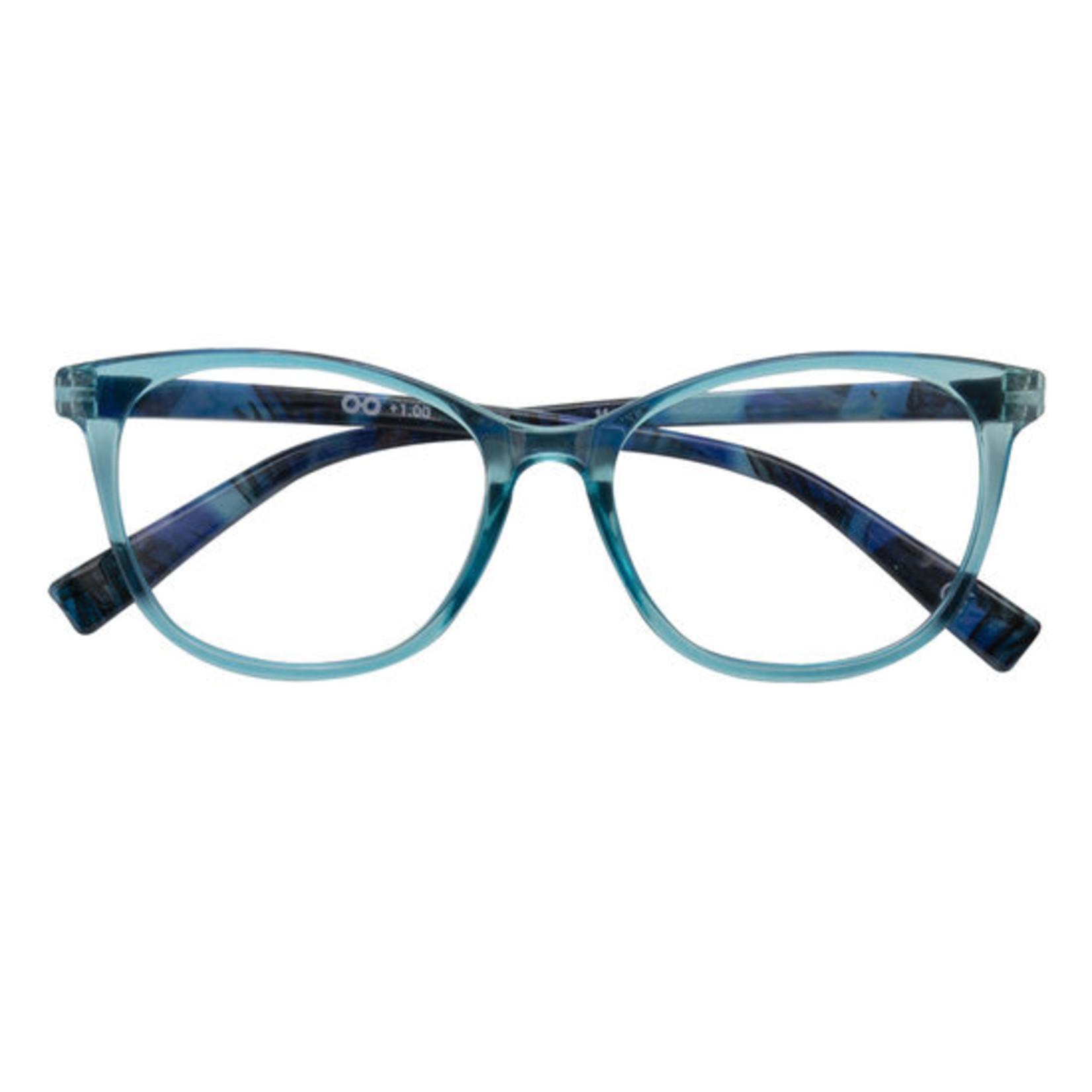 Croon Monroe Blauw leesbril