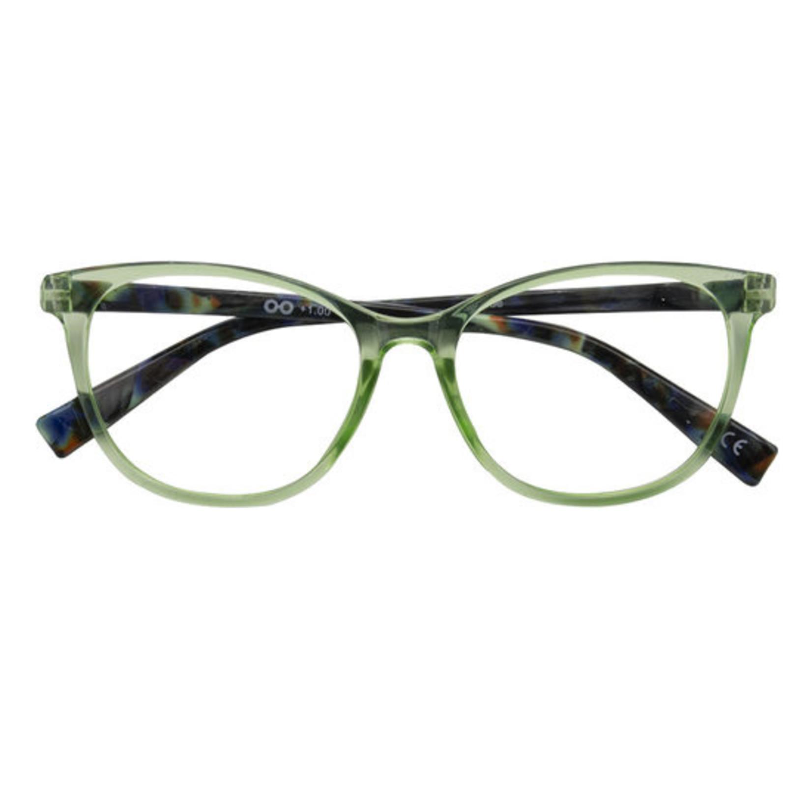 Croon Monroe Groen leesbril
