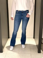 CUP OF JOE JEANS Laura flared jeans  medium blue L32