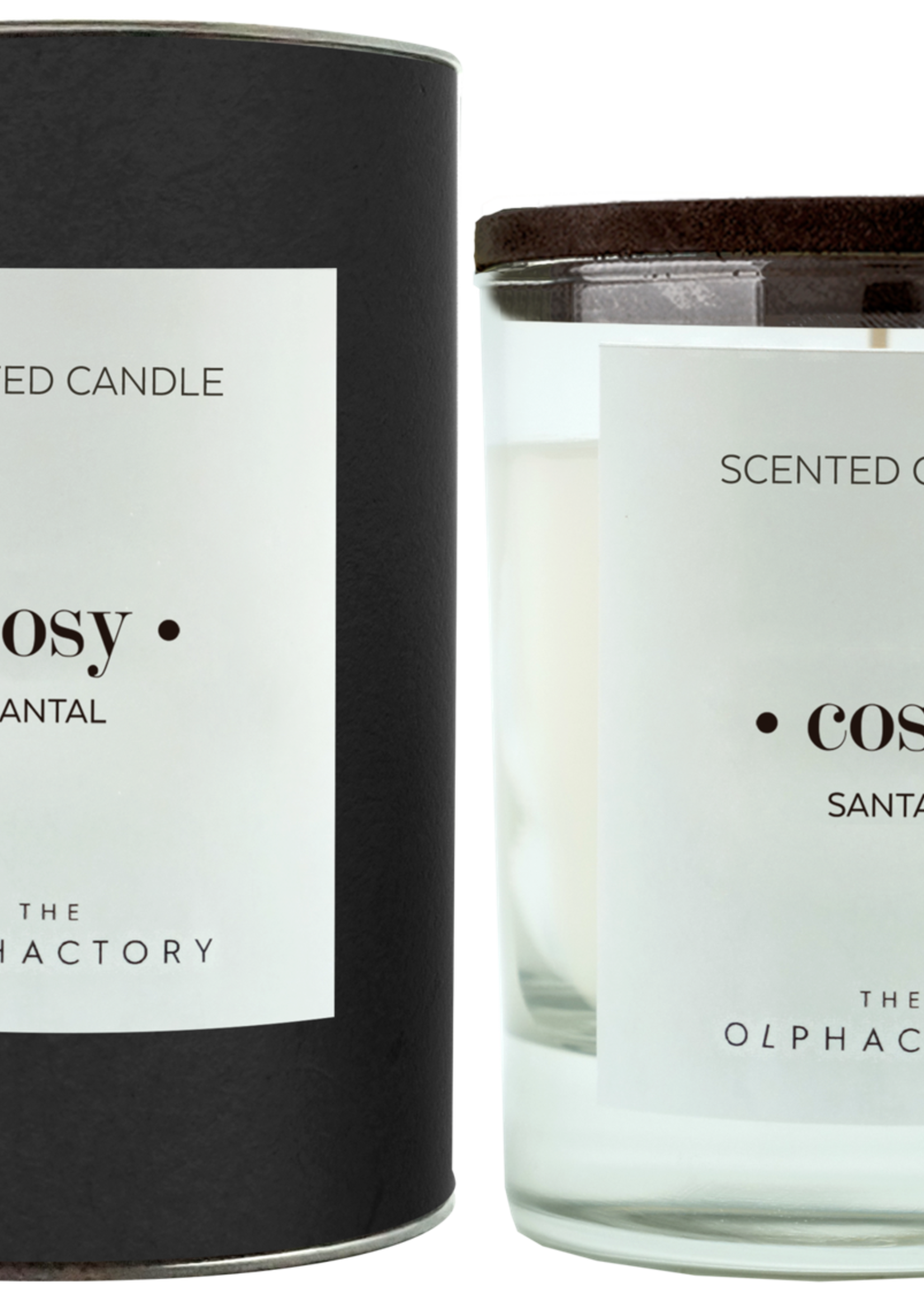 The Olphactory The Olphactory luxe geurkaars Cosy Santal