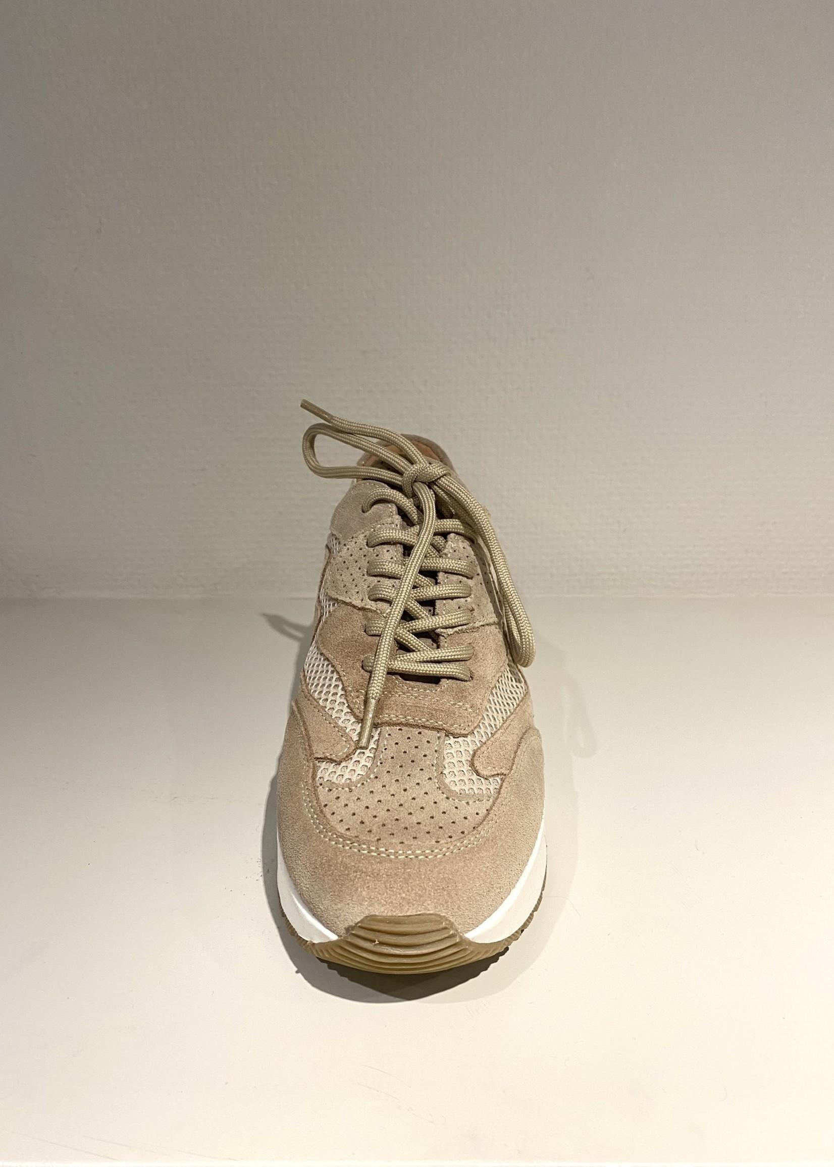 DWRS Zandkleurige sneaker DWRS