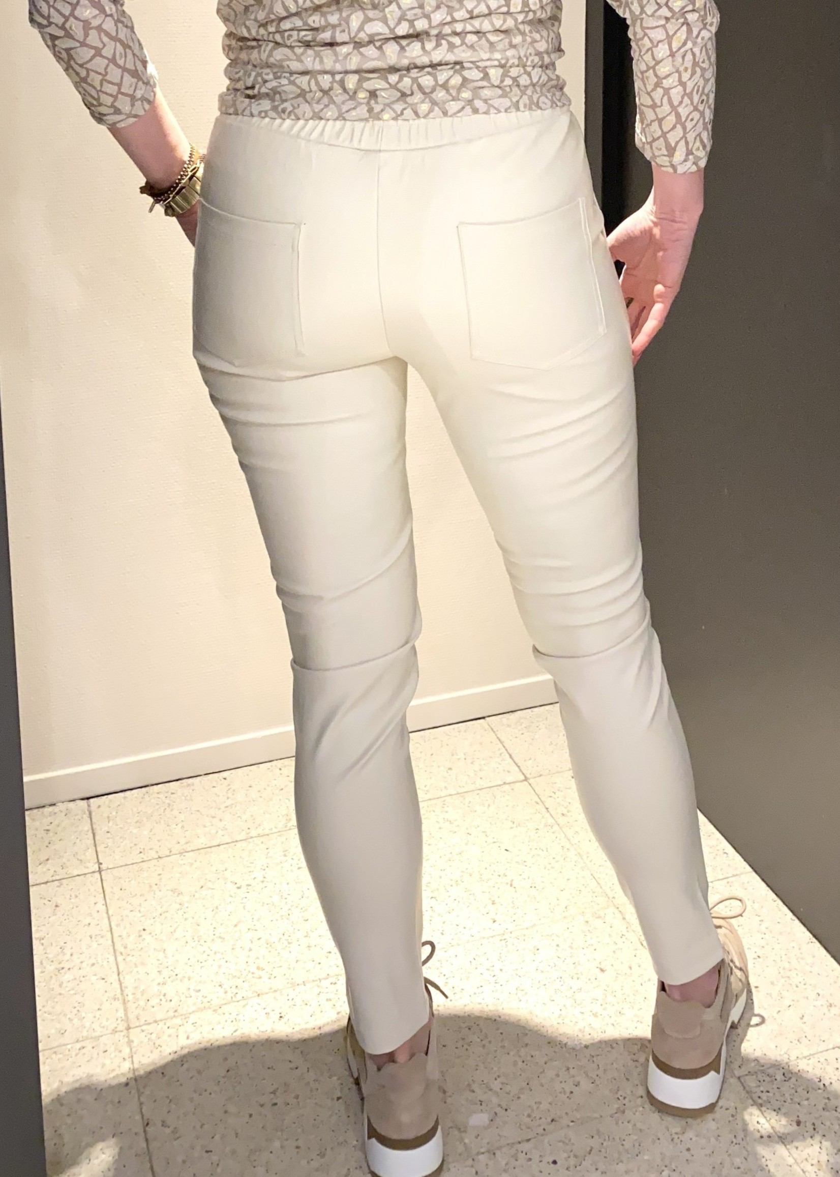 GMAXX Zandkleurige broek Ditte van GMAXX