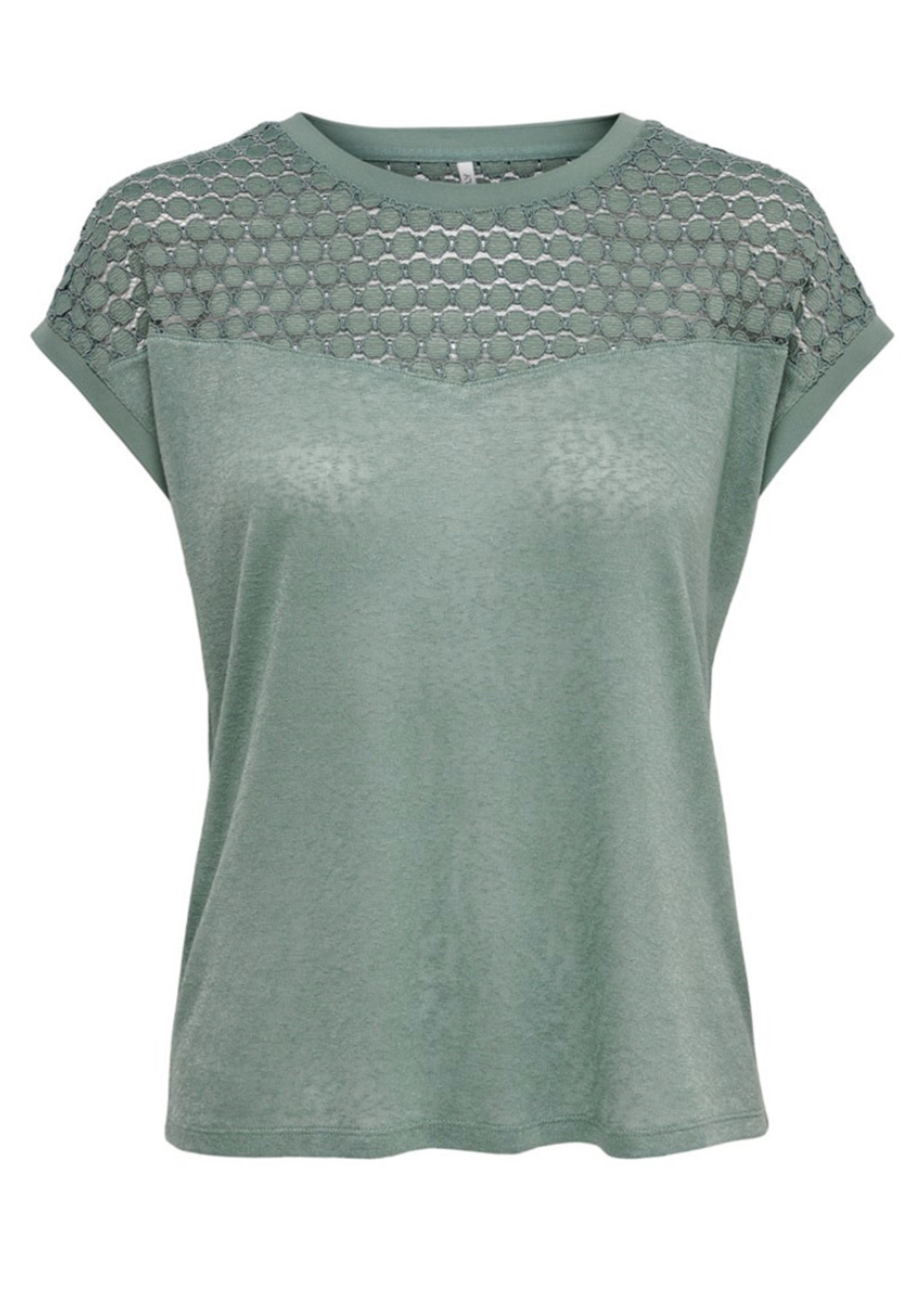 ONLY ONLNEW RIE S/S MIX TOP JRS Chinois Green