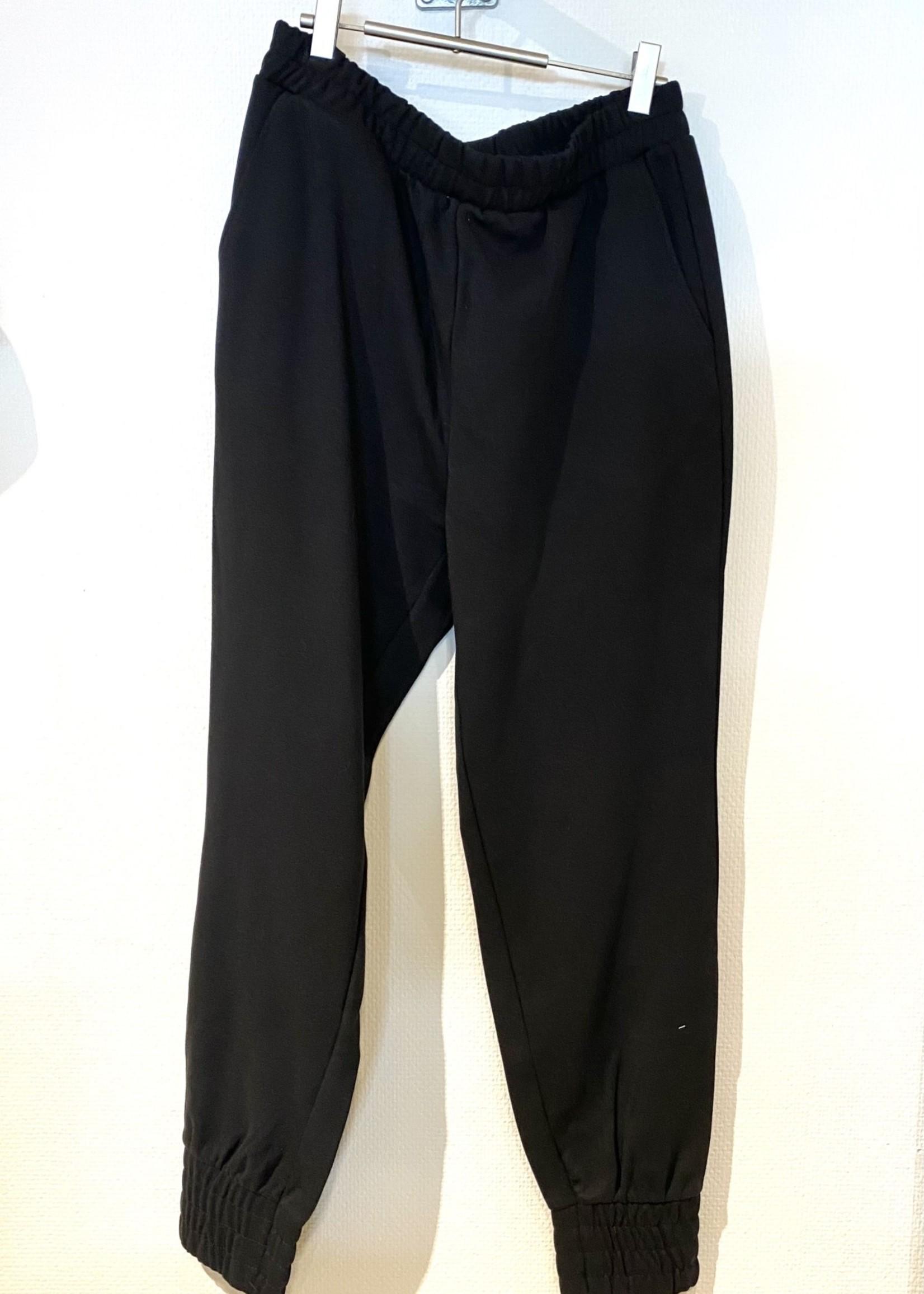 OBJECT OBJMEZA HW SWEAT  PANTS REP Black