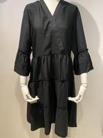 VILA VIETNA 3/4 DRESS Black