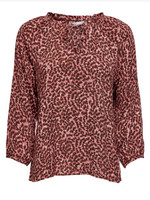 ONLY ONLANNEMONE 3/4 SLEEVE TOP WVN Faded Rose