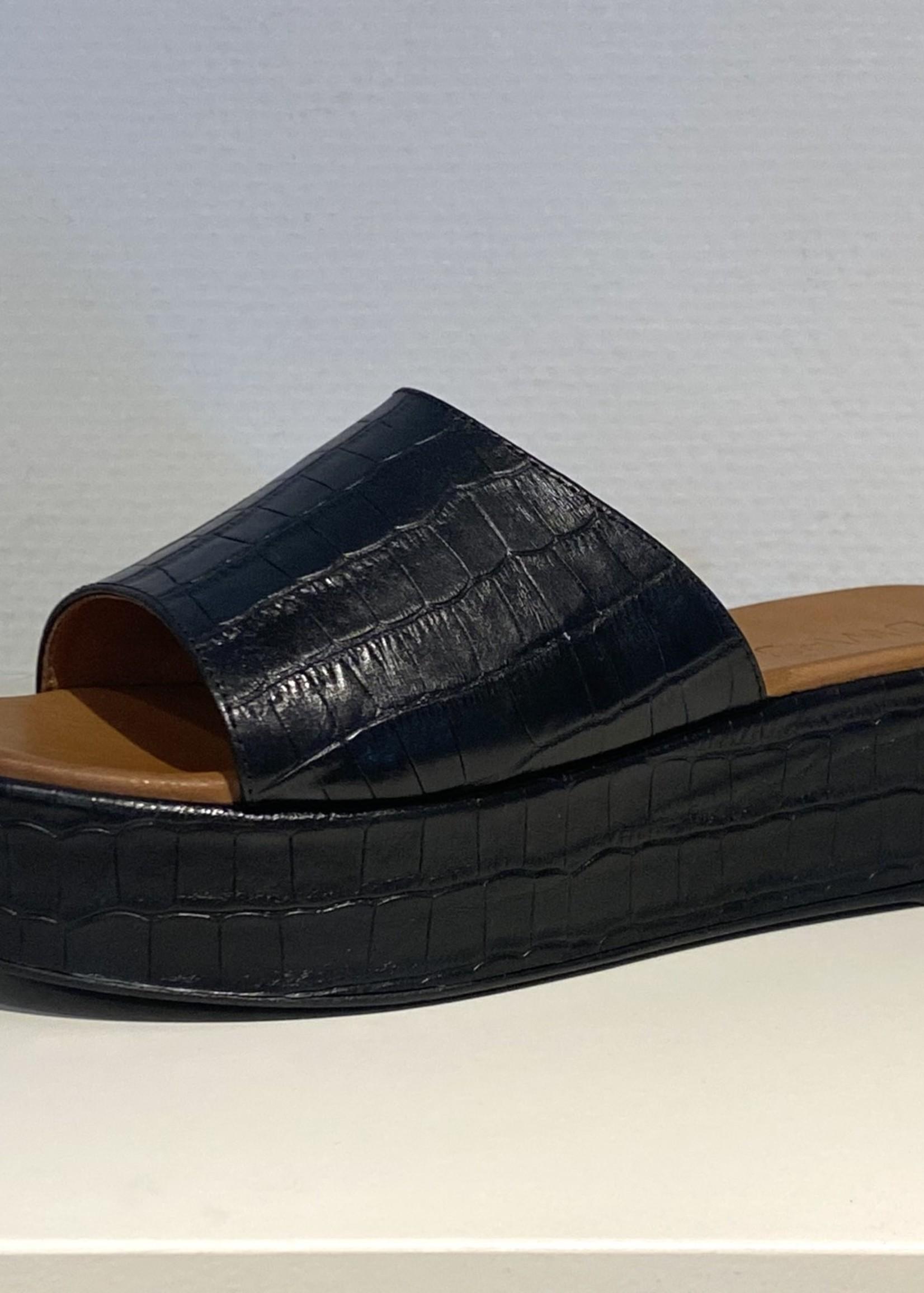 DWRS ARUBA slipper DWRS zwart