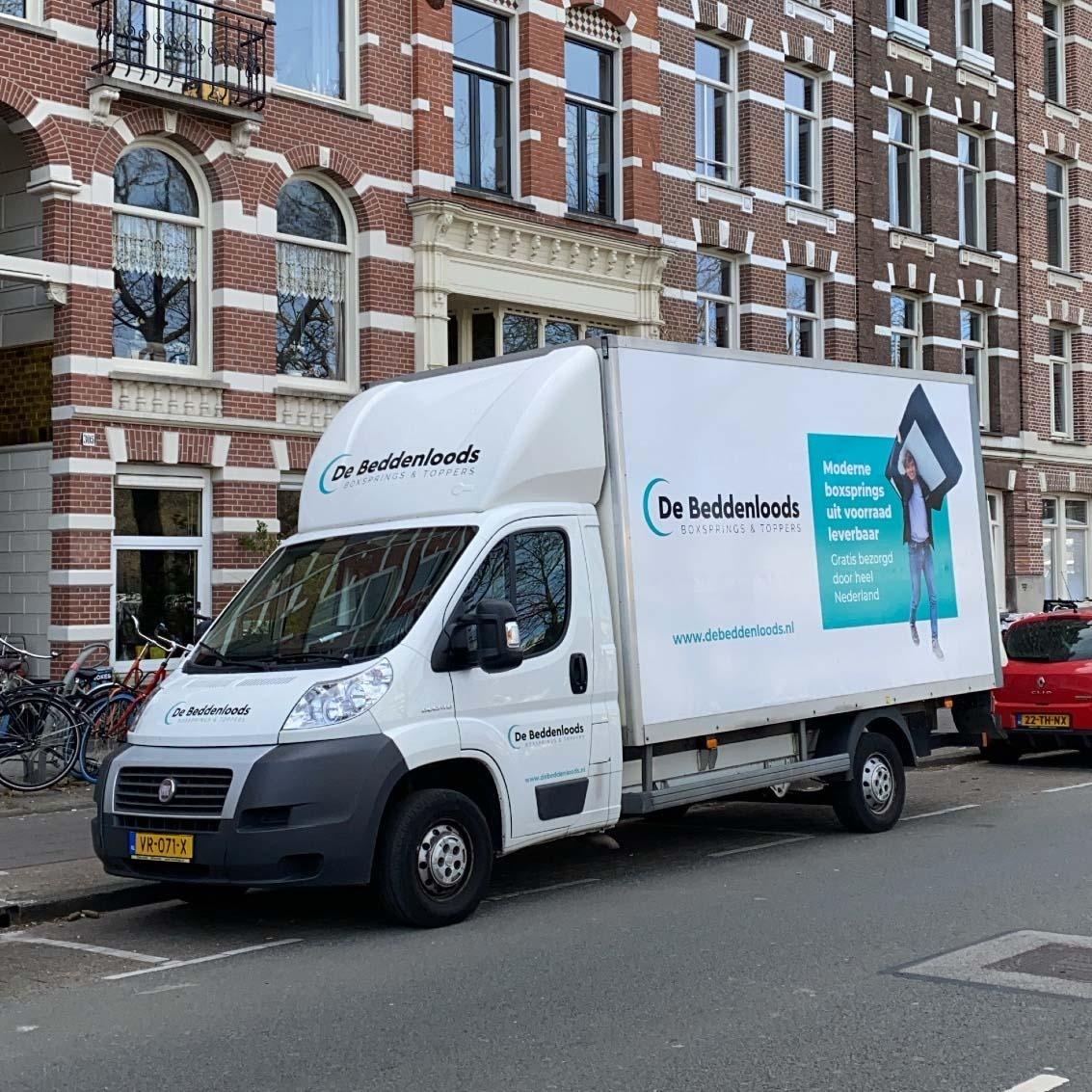 Gratis bezorging door heel Nederland