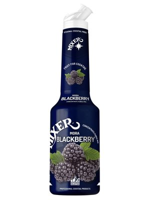 MIXER BLACKBERRY FRUIT PUREES CONCENTRATE 1000ml MIXER PROFESSIONAL COCKTAIL PRODUCTS