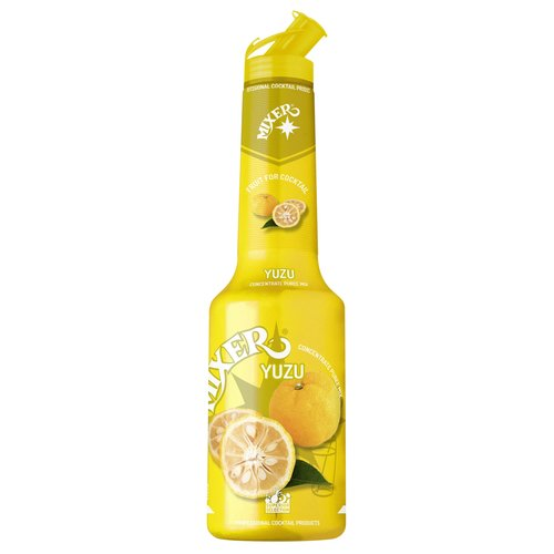 MIXER YUZU CONCENTRATE FRUIT PUREES MIXER 1000ML PROFESSIONAL COCKTAIL PRODUCTS