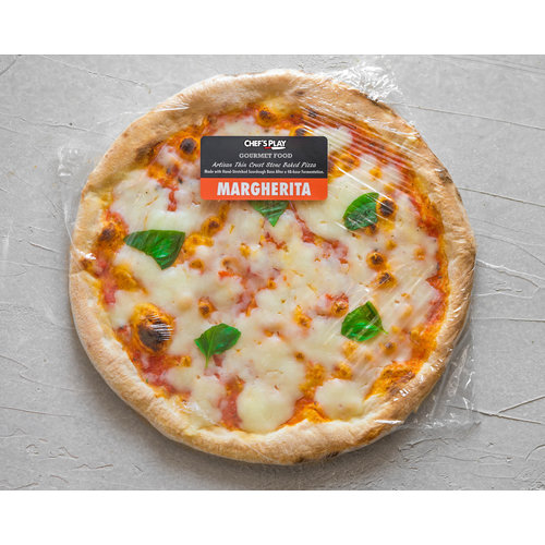Chef's Play Pre-cooked frozen Pizza Margherita 28 cm (Veg.)
