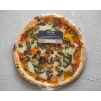 Pre-cooked frozen Pizza Funghi 28 cm (Veg.)