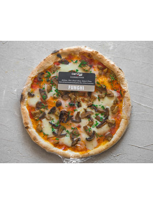 Pizza Box by Chef's Play Pre-cooked frozen Pizza Funghi 28 cm (Veg.)