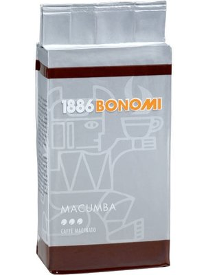 Bonomi MACUMBA GROUND COFFEE 250gx4 Packets