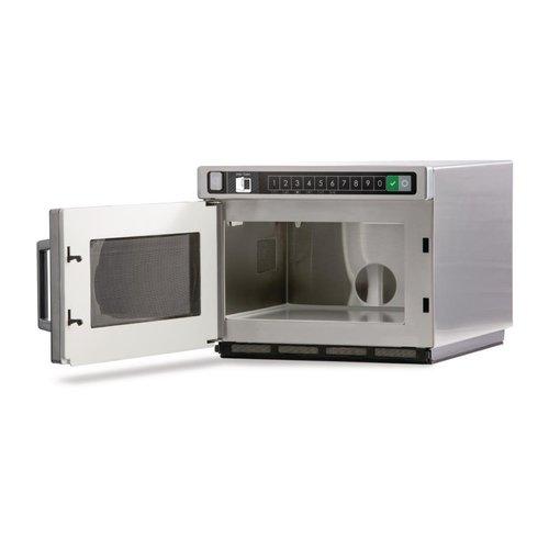 MENUMASTER DEC21E2 Heavy Duty Programmable Microwave 2100W