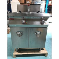 1G1FR4G-FPM03 - Freestanding Double Tank Gas Fryer, 12+12 L