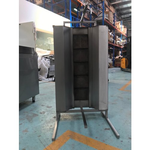 POTIS GD5-S - Doner Gyros Grill, Gas 120 kgs