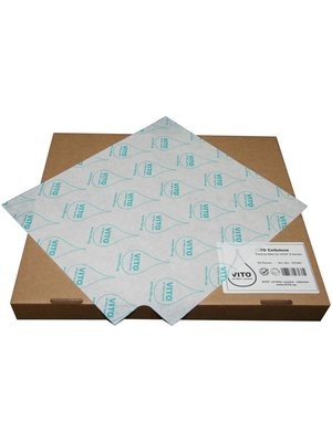 VITO Cellulose Particle Filter for XS/XM/XL: 1 Box (50 Pcs.)