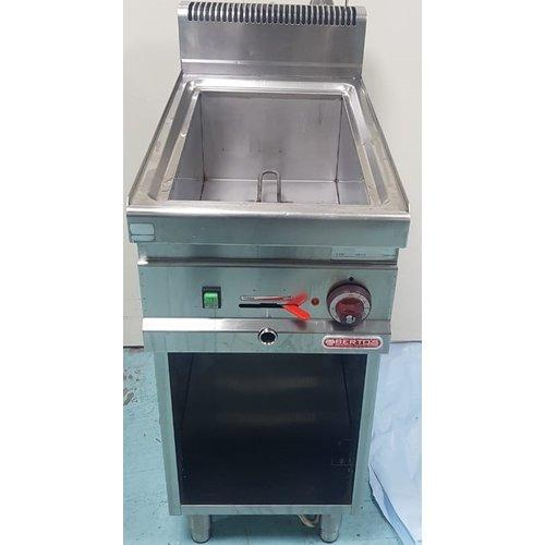 BERTO'S E7BM4M - Electric Bain Marie with Open Cabinet