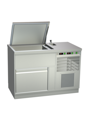 AKE AKE Ice Cream Storage Counters Static Cooling EIS-TKE 140-3