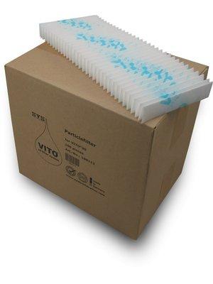 VITO Cellulose Particle Filter for V30: 1 Box (100 Pcs.)