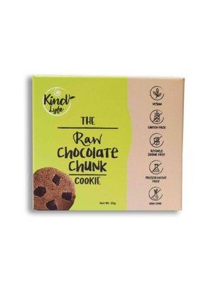 KINDLYFE THE RAW CHOCOLATE CHUNK COOKIE 35 gm-1 Case (10 Pack x 35 gm)
