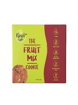 KINDLYFE THE FRUIT MIX COOKIE 35G-1 Case (10 Pack x 35 g)