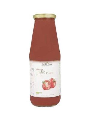 EARTH'S FINEST Organic Italian Tomato Puree 680 g -1 Case (12 Pack x 680 g)