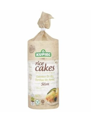 KUPIEC Rice Cakes with Sunflower Thin 84 g - 12 pieces (84 g each)