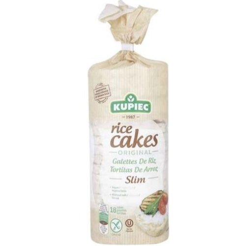 KUPIEC Rice Cakes Traditional Thin 90 g - 12 pieces (90 g each)