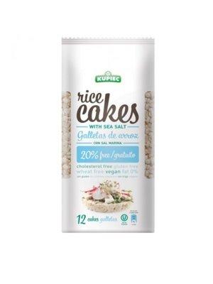 KUPIEC Rice Cakes With Sea Salt 120 gms - 16 pieces (120 g each)