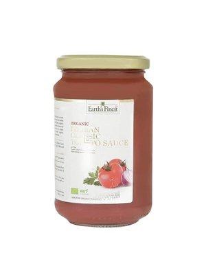 EARTH'S FINEST Organic Italian Classic Tomato Sauce 340 g - 6 bottles (340 g each)