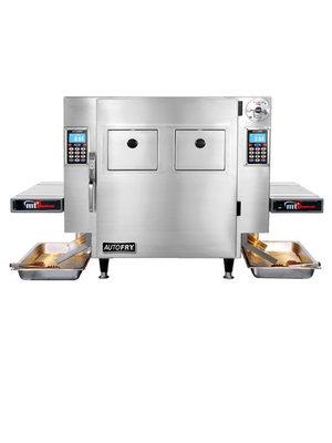 AUTOFRY® MTI-40C Ventless Deep fryer countertop w/ a compact dual basket
