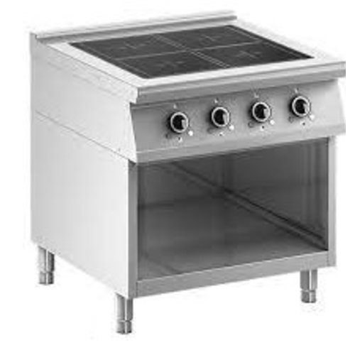 Ambach 8IHF4UBO/80 - Electric Induction with 4 Cooking Zones, 850 mm Depth