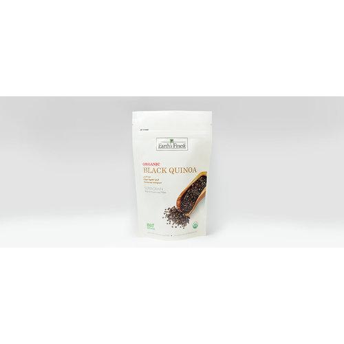 EARTH'S FINEST Organic Black Quinoa - 340 gm