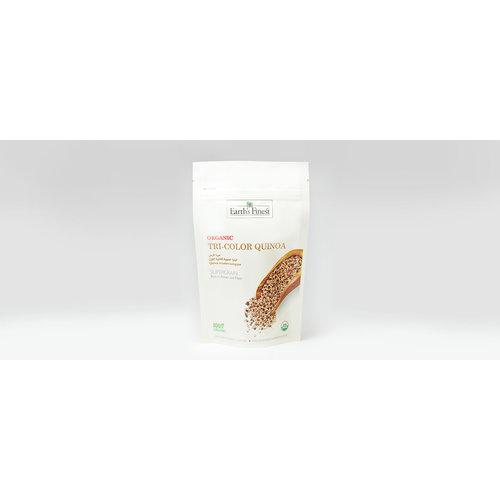 EARTH'S FINEST Organic Tricolor Quinoa - 340 gm