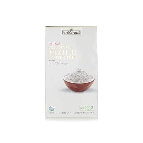 EARTH'S FINEST Organic Coconut Flour 500 gms-1 Case(6 Pack x 500 gm)