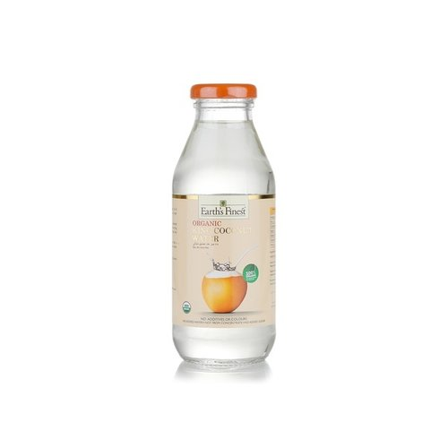 EARTH'S FINEST Organic King Coconut Water 360ml-1 Case(12 Pack x 360 ml)
