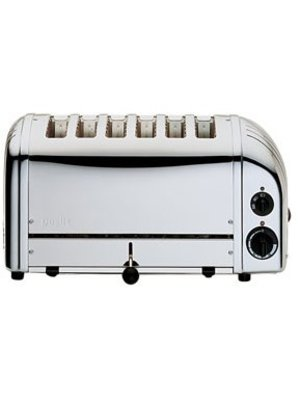 DUALIT 60144 - 6-Slot Polished Toaster