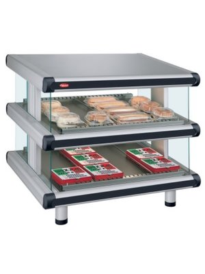 HATCO GR2SDS-36D - Glo-Ray Designer Slanted Double Shelf Merchandiser