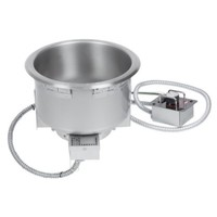 HWB-11QT - Single Drop In Round Heated Soup Well