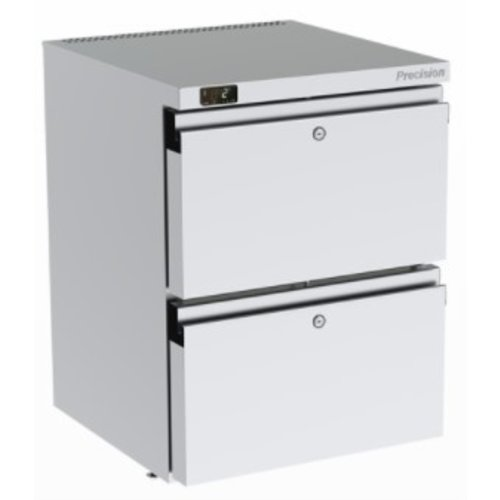 PRECISION HPU 152 - 2-Drawer Undercounter Refrigerator