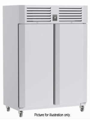 PRECISION MPT 1401 - 2-Door Upright Refrigerator with Glass Doors