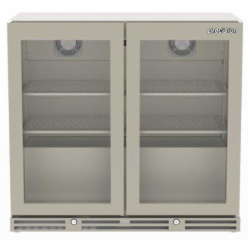 PRECISION BBS 900 - 2-Door Undercounter Bottle Cooler, 800 mm H