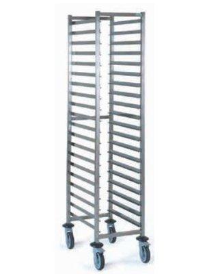 TOURNUS 804 249 GN 2/1 bar slide trolley (flat packed)