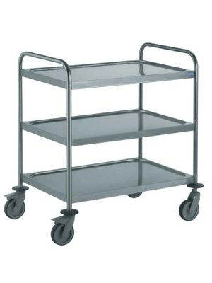TOURNUS 801 553 Clearing trolleys with 2 arched handles