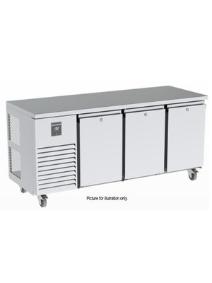 PRECISION MCU 311-UHHH - 3-Section Undercounter Refrigerator with 3 Banks of 2 Drawers
