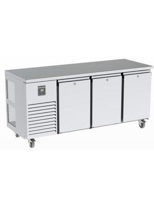 PRECISION MCU 311-UDDD - 3 Solid Doors Undercounter Refrigerator, 845 mm H