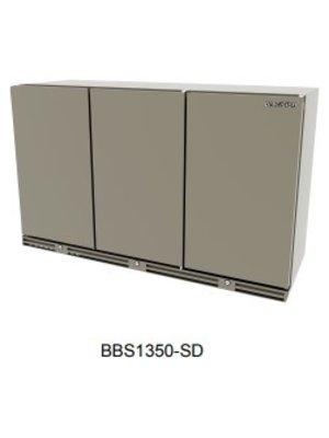 PRECISION BBS 1350 -3-Door Upright Bottle Cooler, 845 mm H